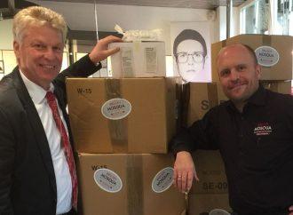 Spendenrekord: Brillen-Mosqua sammelt über 8500 Brillen für Ungarn